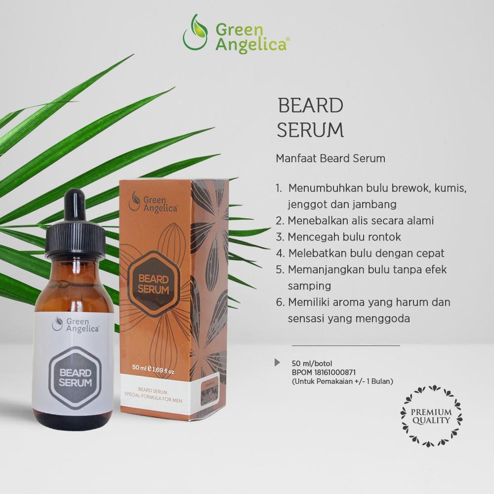 Serum Penumbuh Brewok Berkhasiat,, serum penebal alis ampuh dan alami tanpa bahan kimia | Shopee Indonesia