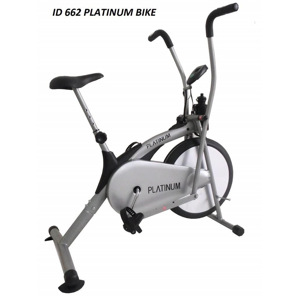 Alat Fitness Sepeda Statis Magnetik Bike Olahraga White Total Orbitrack Multifungsi Orb2000s Shopee Indonesia