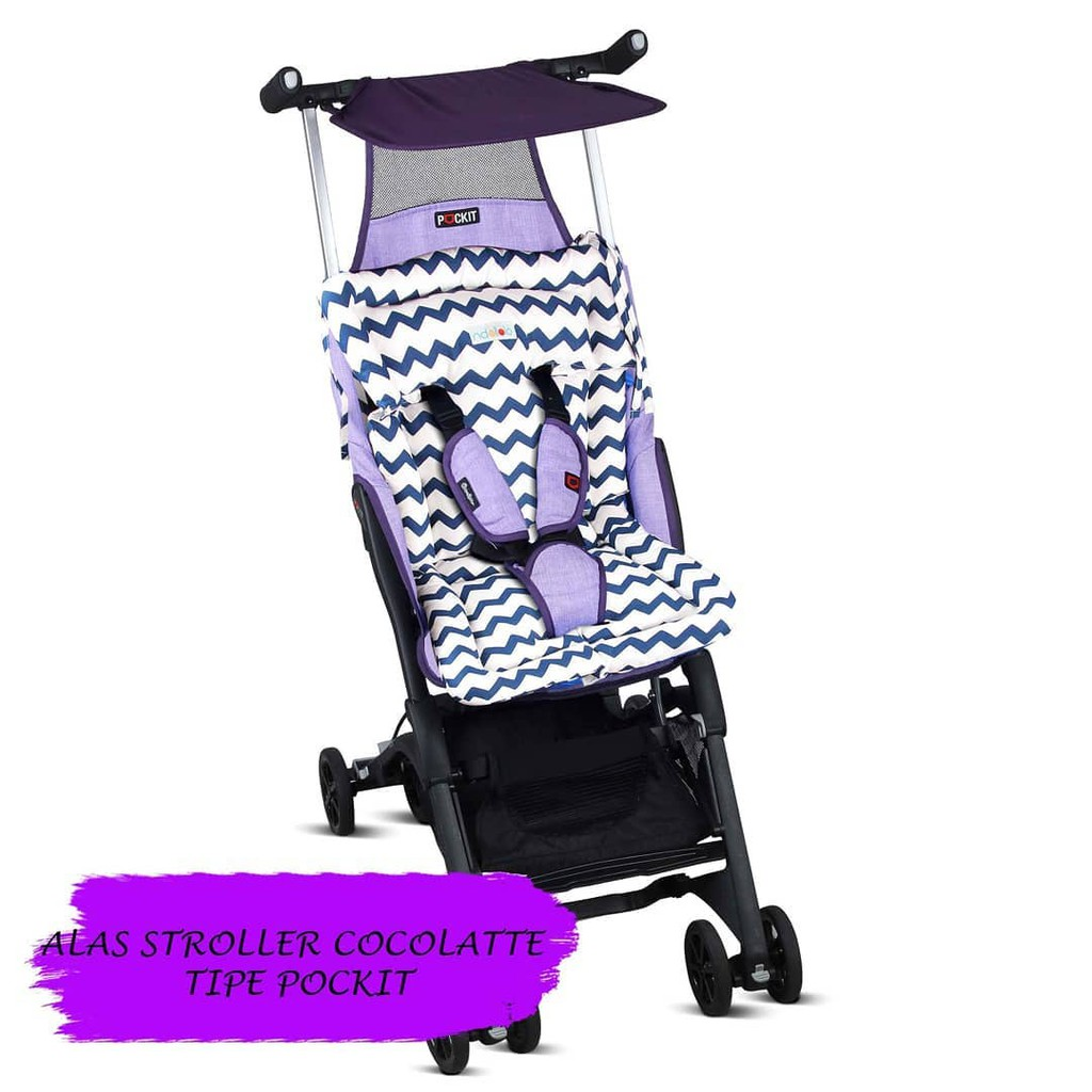 Stroller Pad Alas Isport Iflex Icross Baby Elle Wavedl Kereta Dorong002 Cocolatte Pockit Seat Shopee Indonesia