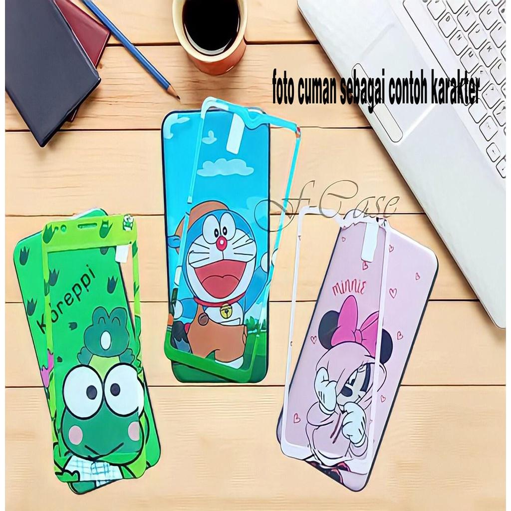 Sofcase Karakter Unik Tipe Hp INFINIX HOT 9 / 9 PLAY Case Free Temper Glass