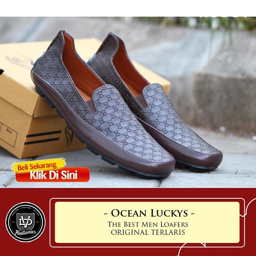 c0a72cd964c Loafers Pria Monna Vania Tatum 534 9 JS5466 Sepatu gucci Black ...