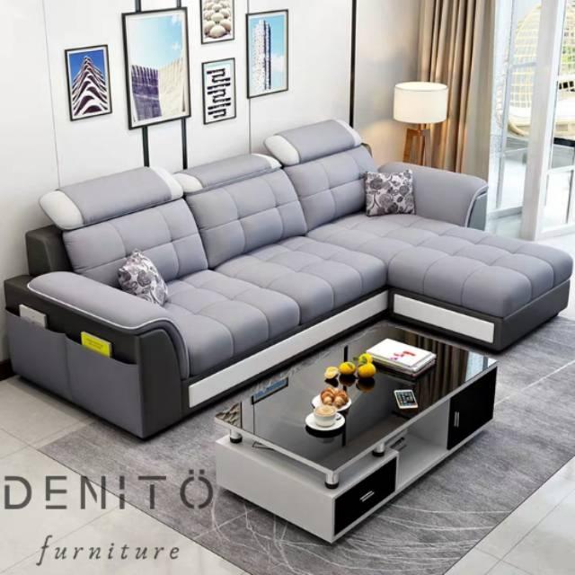 Sofa Minimalis Leter L Kualitas Premium Harga Pabrik Garansi 2 Tahun Gratis Ongkir Jabodetabek Shopee Indonesia