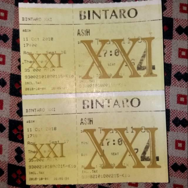 Tiket Bioskop Xxi Tsm Bandung Shopee Indonesia