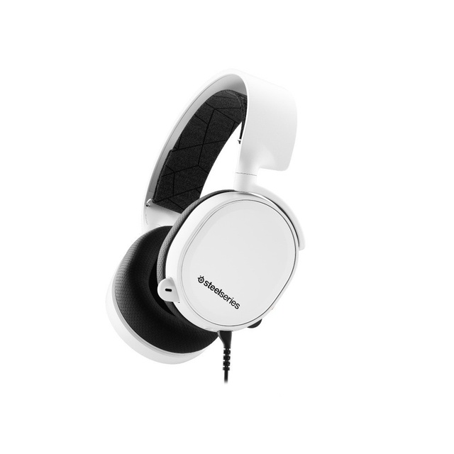 Steelseries Arctis 3 White 2019 Edition - Gaming Headset