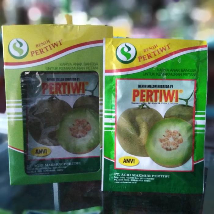 Benih Tanaman Melon Pertiwi ANVI - Bibit Tumbuhan Buah Hibrida F1