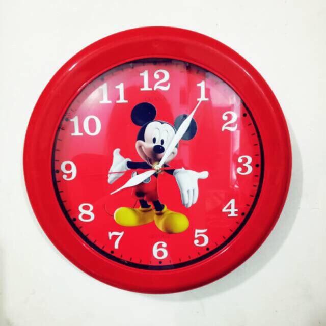 Jam Dinding Mickey Mouse   Mickey 601   Wall Clock   Diameter 30 cm   Jam  Dinding The Walt Disney 8b30668174