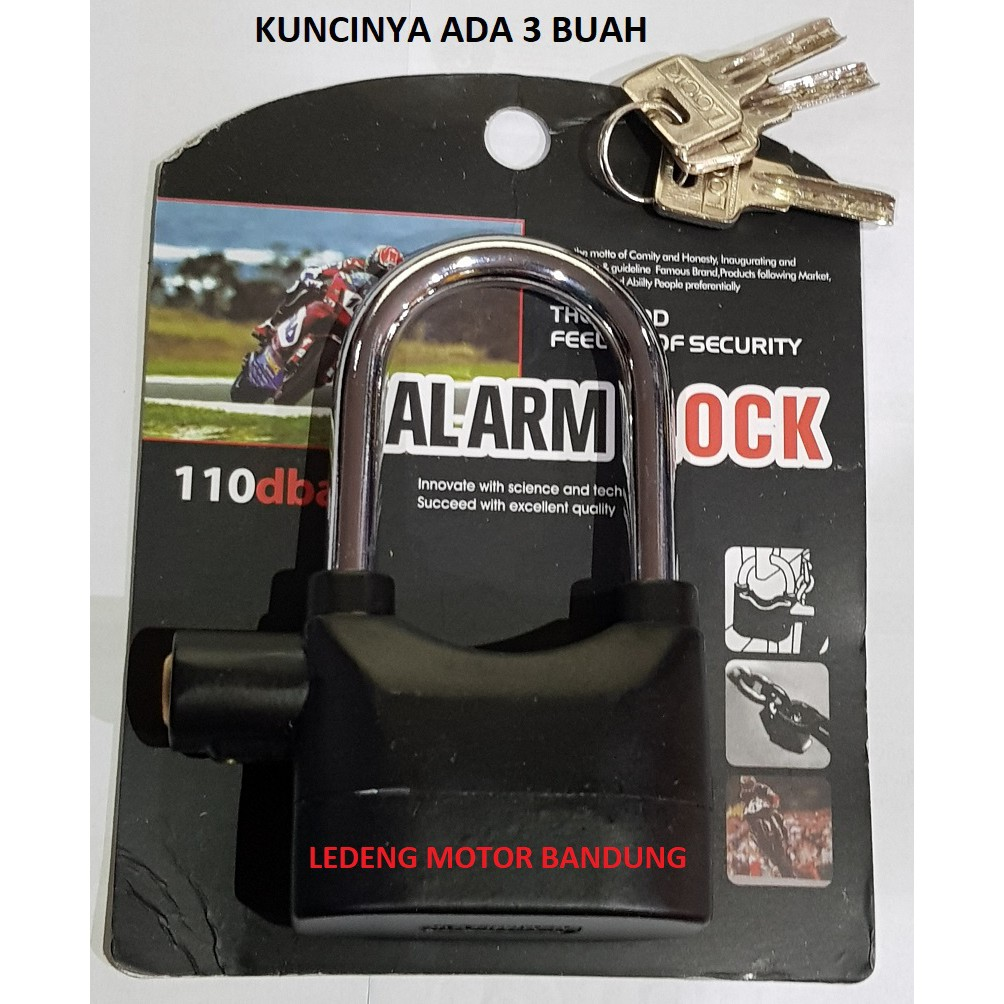 Camel Gembok Rantai 100 Cm Sepeda Motor Dan Besar Motorcycle U Lock Biru Pagar Shopee Indonesia