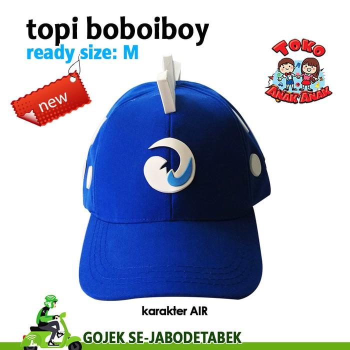 3 Topi Boboiboy + 3 Gelang  799bd4423a