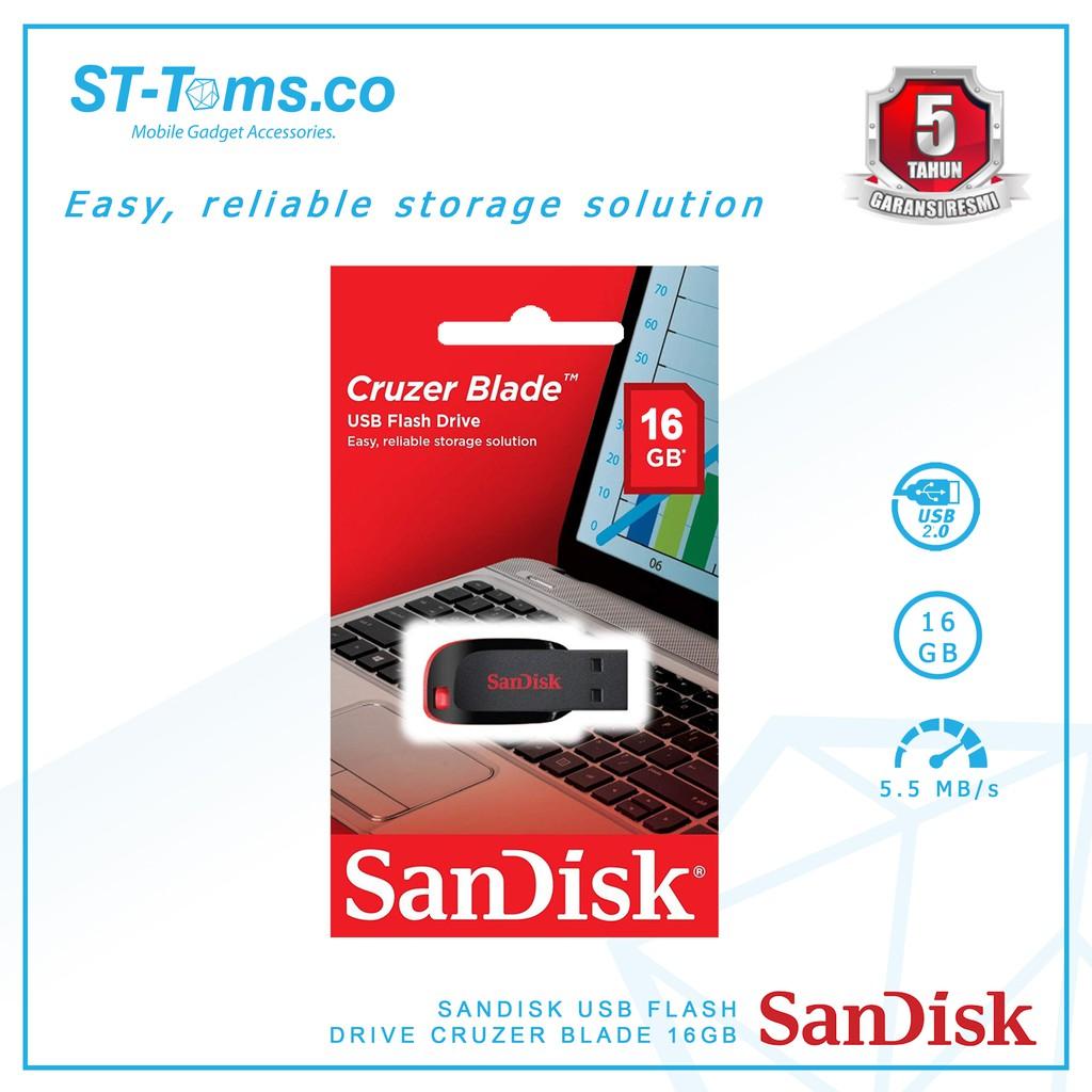 SANDISK Cruzer Blade CZ50 16GB SDCZ50-016G-B35