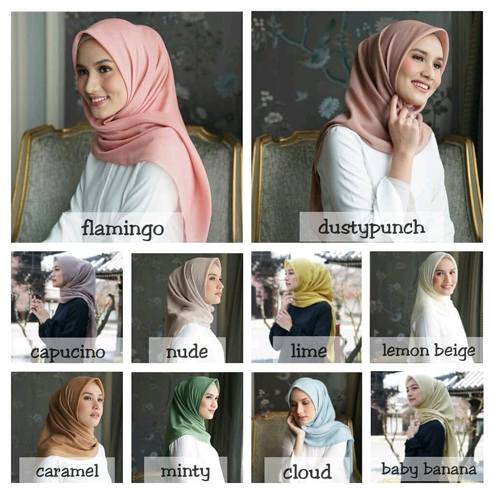 Promo Zaskia Mecca Raya Scarf Purple Shopee Indonesia