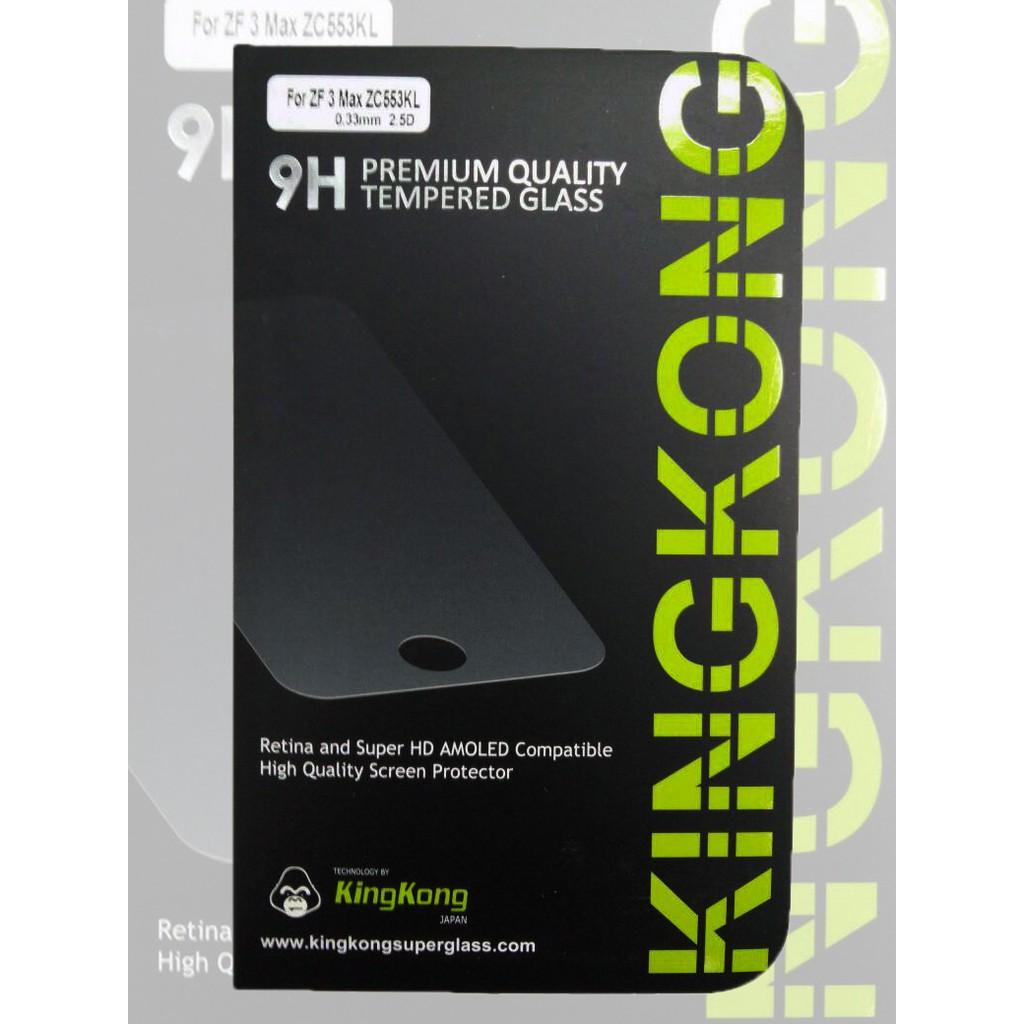 Tempered Glass Kingkong Asus Zenfone 3 Max Zc553kl Shopee Indonesia Anti Gores Kaca 2 Selfie