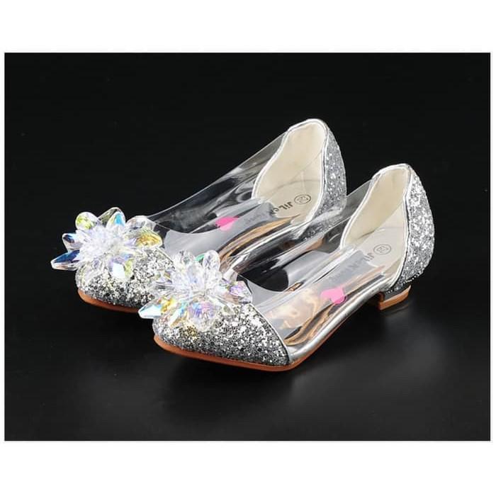 Terbatas Cutevina Princess Shoes Sepatu Anak Cewek Hak Tinggi