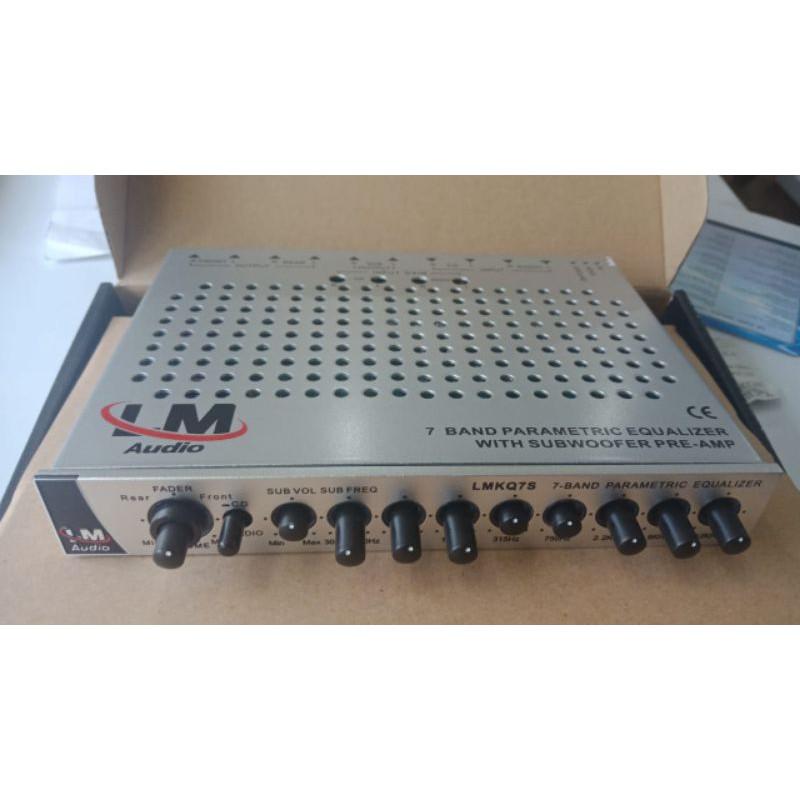 parametric equalizer LM Audio 7 Band LMKQ 7S suara jernih