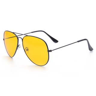 Popular❤  Gelas kacamata cermin datar Metal Frame Colored Lens UV  Protection Sunglasses 3763678b70
