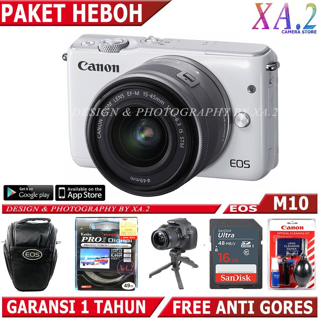Lensa Fix Canon 50mm F 18 Stm Uv Filter Garansi Resmi 1 Tahun Eos M10 Kit 15 45mm 35 63 Is Datascrip Hitam Shopee Indonesia