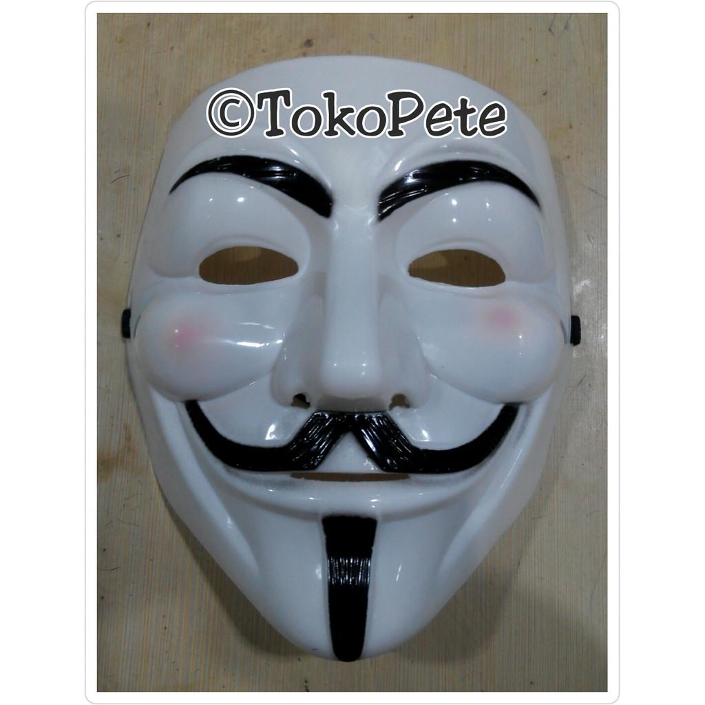 Jual Topeng Vendetta Setengah Muka Topeng Half Face Murah Shopee