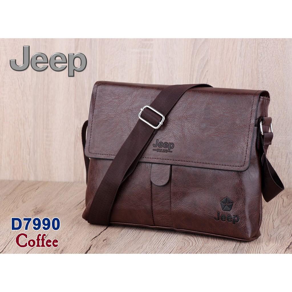 BAG TAS SLEMPANG PRIA COWOK JEEP 9087-3 FASHION BRANDED IMPORT ... 0bd4ed88c5