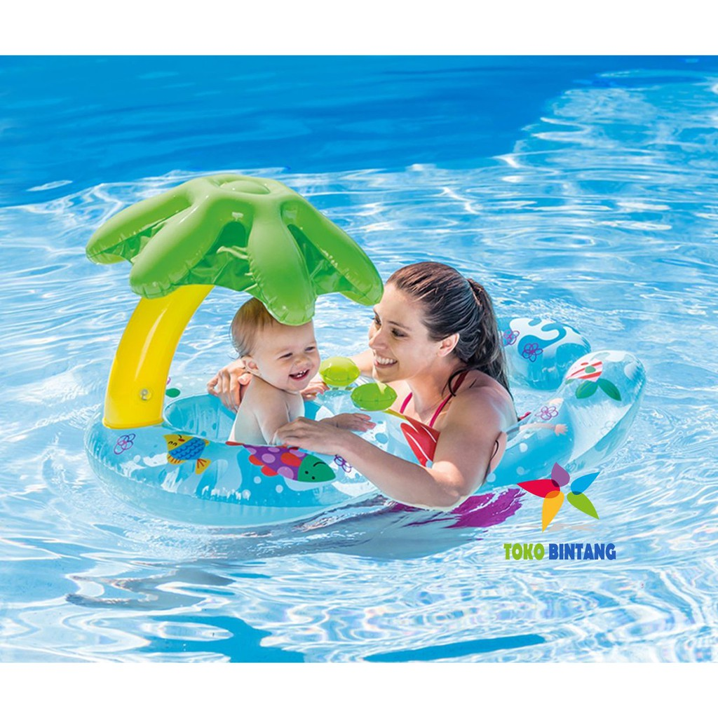 Intex Pelampung Deluxe Swim Vest Pool School 58660 Shopee Indonesia Abc Sz S Rompi Anak Jaket Renang