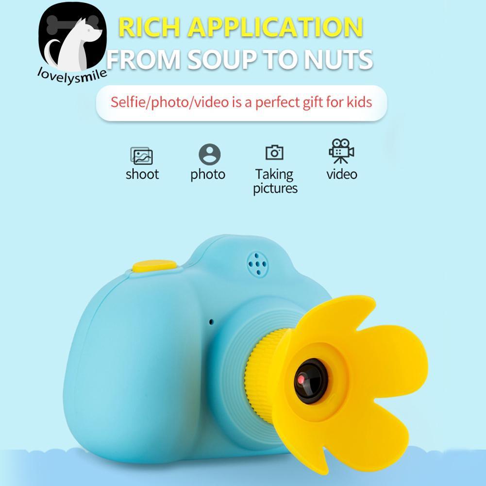 Lovelysmile Kamera Digital Mini 1080P Video 16G Memory Card untuk Anak-Anak