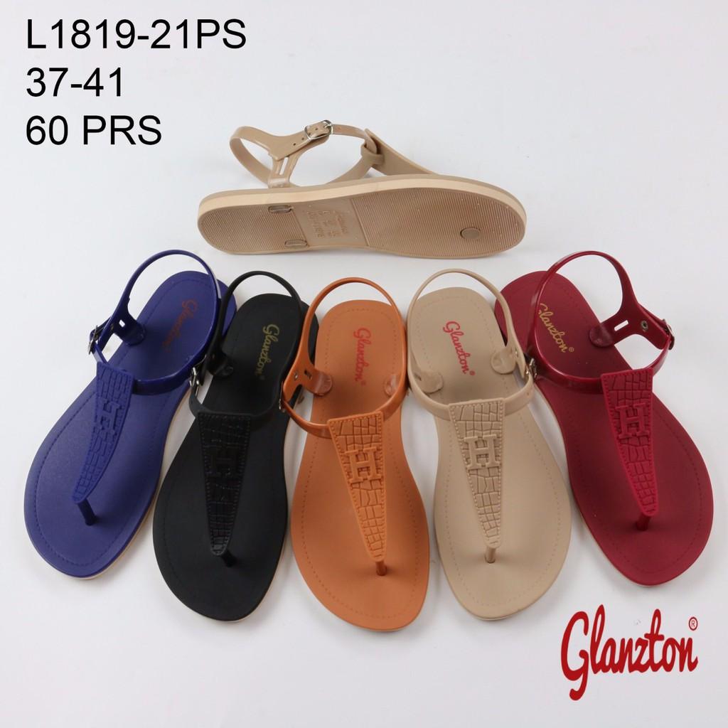 Sandal Santai Wanita Buat Jalan-Jalan Pita Teplek BD 02 Murah Model Terbaru- JY  e33ce63be6