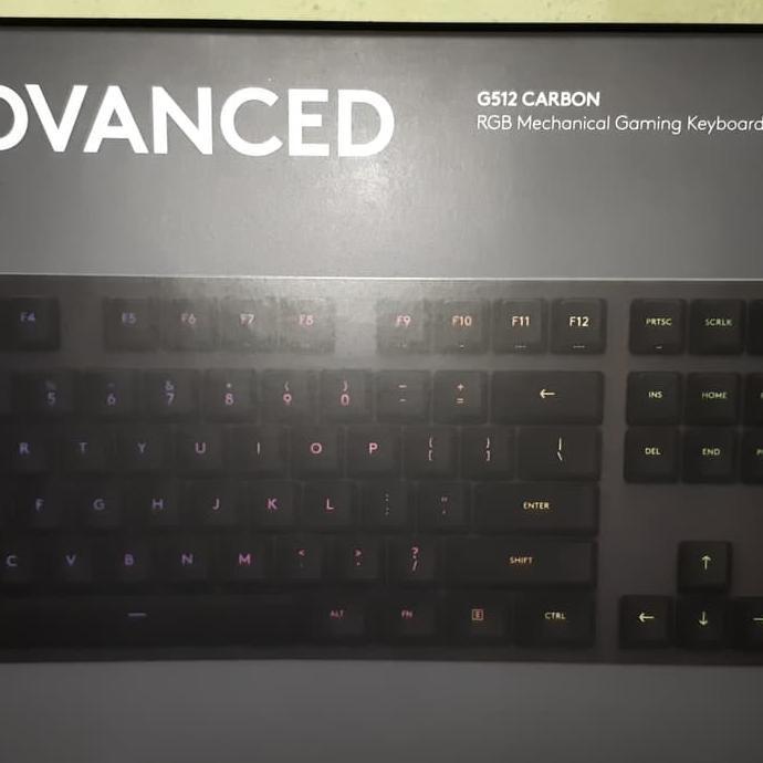 Logitech G512 Carbon Mechanical Gaming Keyboard Shopee Indonesia