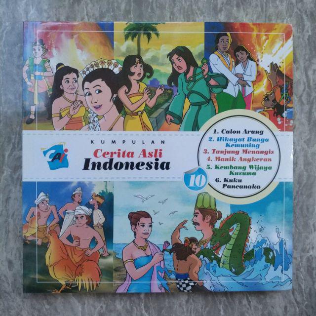 Seri Kumpulan Cerita Asli Indonesia Volume 1 11 Shopee Indonesia