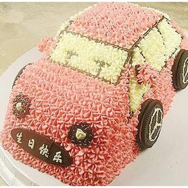 Loyang Roti Bolu Spiku Birthday Cake Kue Ulang Tahun Bentuk Mobil Mobilan Car Mold