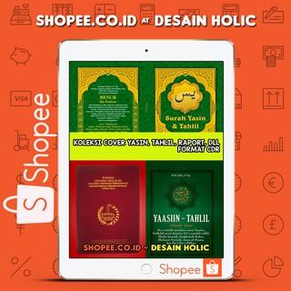 Template Cover Yasin Tahlil Buku Raport Dll