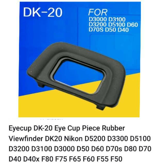 Accessories Electronics DK-20 Viewfinder Eyepiece Eyecup Eye Cup ...