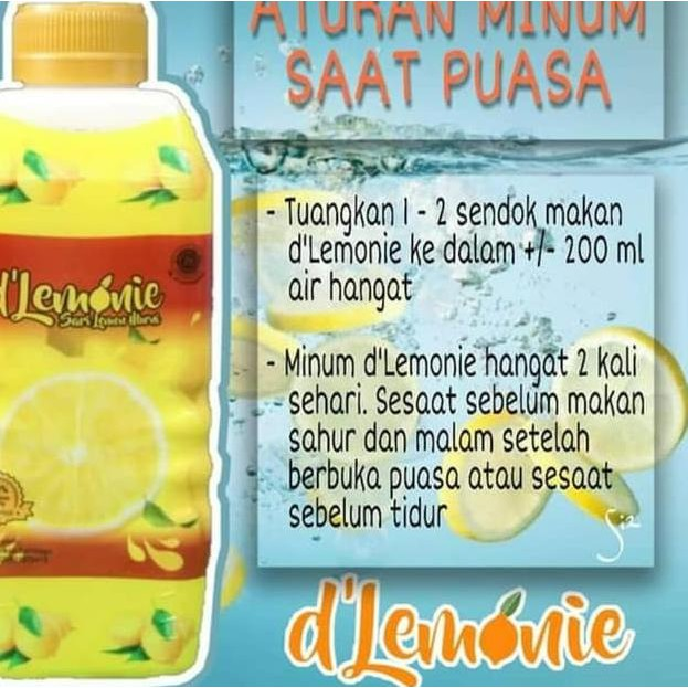 Ae Dlemonie Sari Lemon 500gr Ae Shopee Indonesia