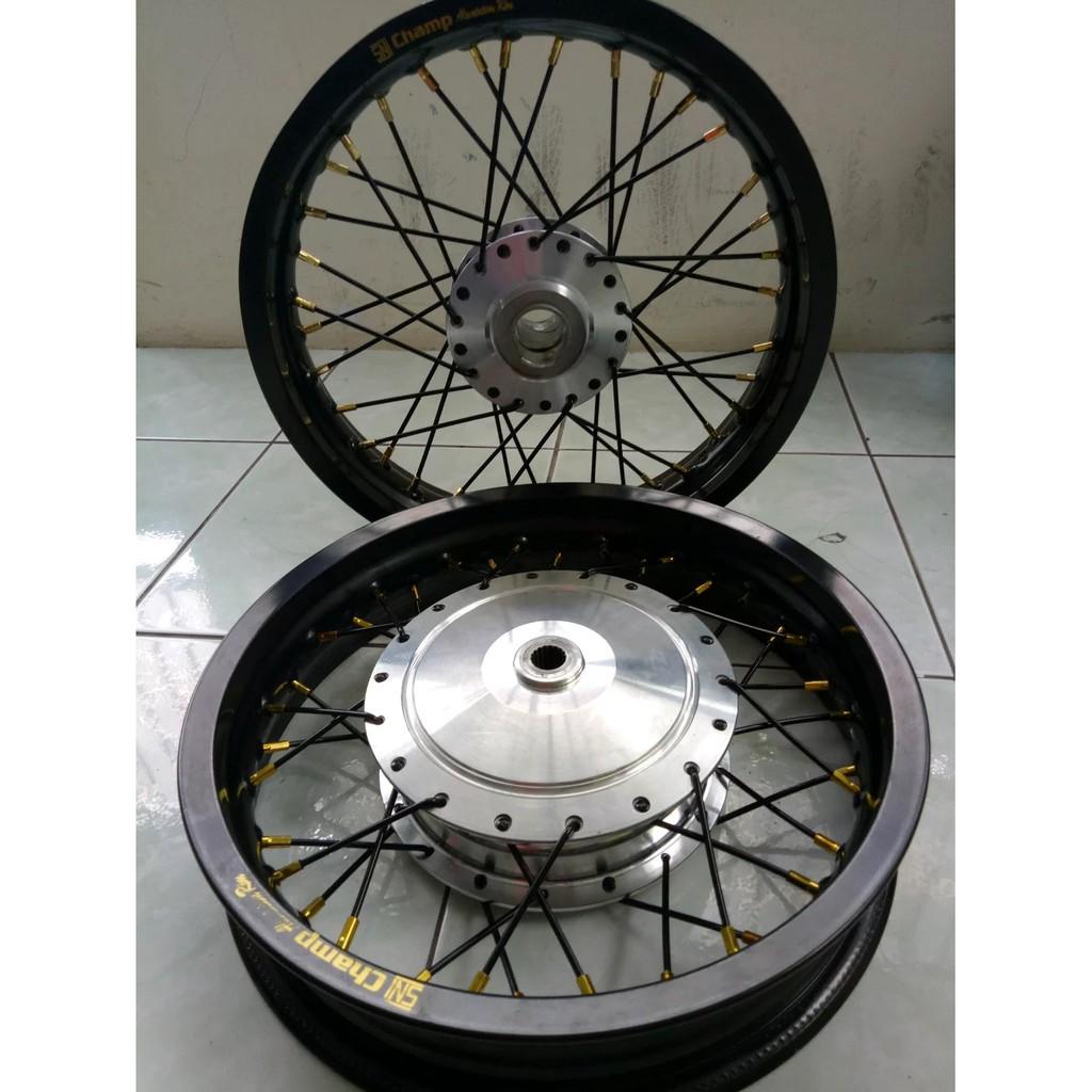 Velg Jari Rossi Ring 17 Lebar 160 Harga Untuk 1 Biji Shopee Wm 140 1set 2pcs Indonesia