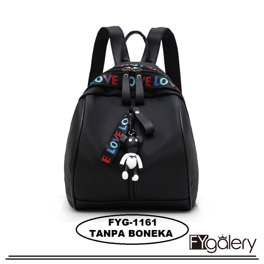 Fashion backpack 4in1 playboy tanpa boneka  tas motif kelinci  ransel murah   4ad12a07f7