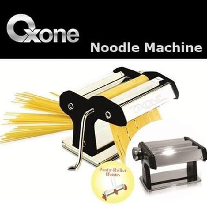 Alat Pembuat Mie Dan Pasta Stainless Anti Karat Oxone Noodle Machine OX- 355AT | Shopee Indonesia