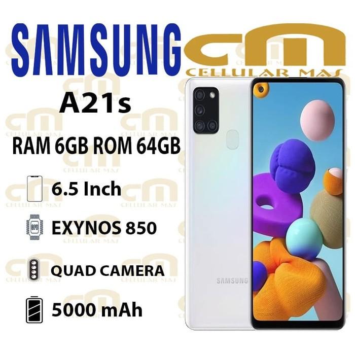 Samsung Galaxy A21s 6 64 Ram 6gb Rom 64gb Garansi Resmi Sein Shopee Indonesia