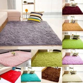 karpet bulu rasfur tikar alas lantai ruang tamu kamar