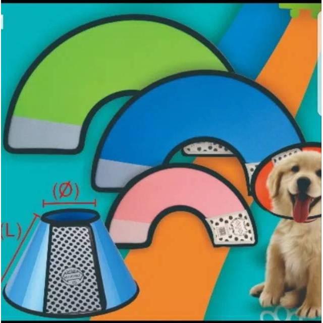 Lingkaran Corong Penutup Leher/Kepala Anti Bite/Pet Dog Collar Cone Anjing/ Kucing | Shopee Indonesia