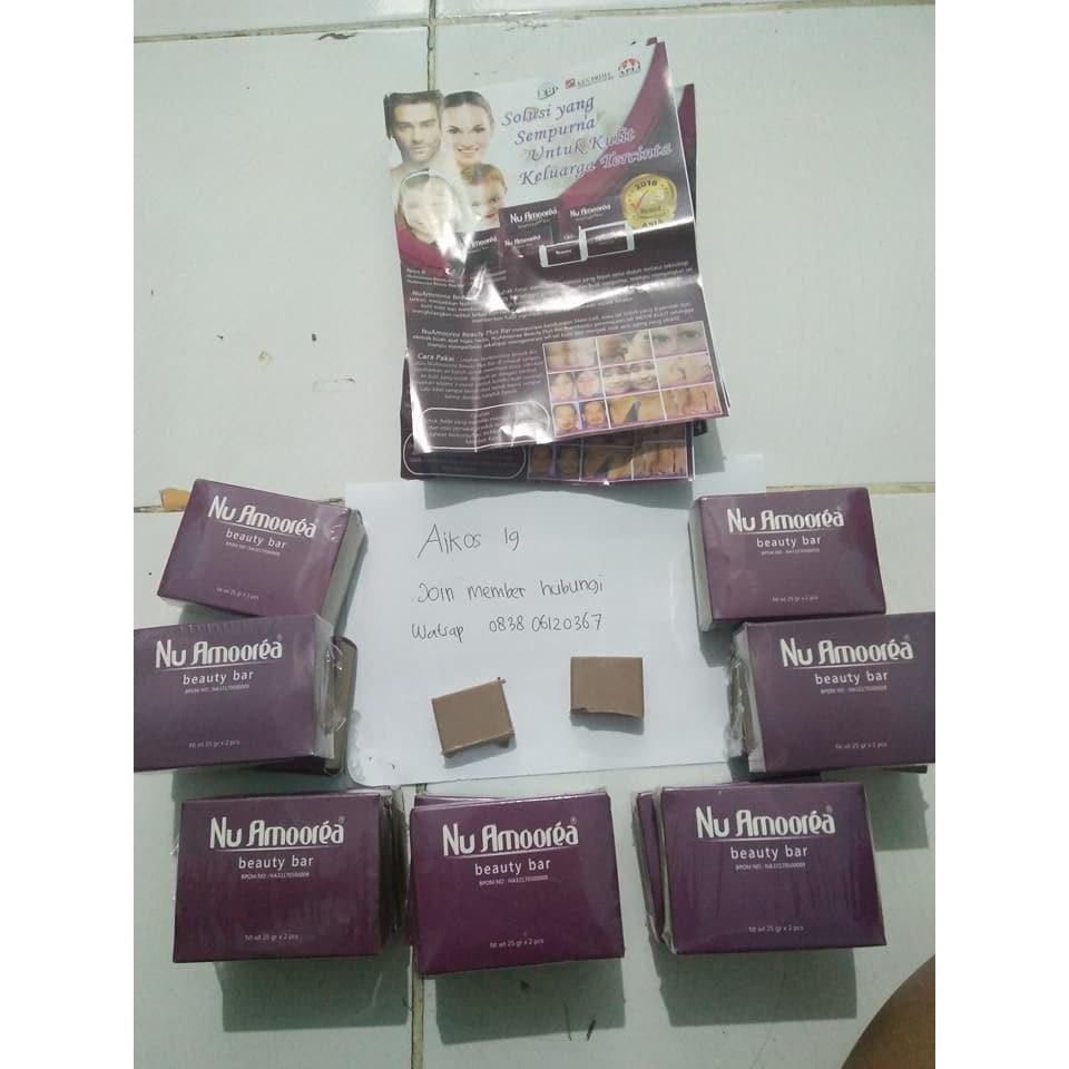 Sabun Nu Amoorea Beauty Plus Bar 25 Gram Original Pt Dep Wajah Glowing Anti Jerawat Muka Shopee Indonesia