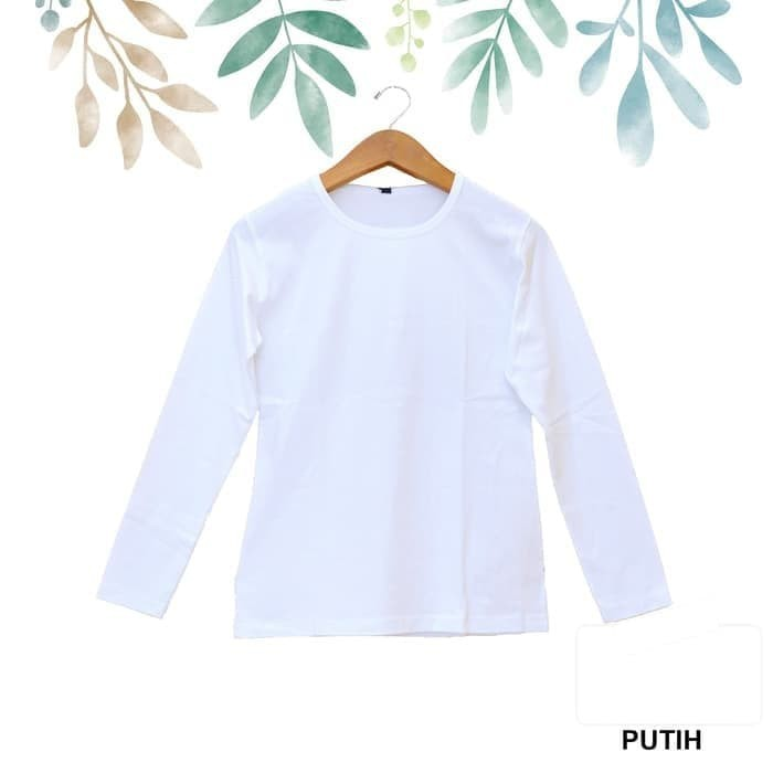 Big Sale Baju Kaos Wanita Kaos Polos Kaos Oblong Salur Kaos Lengan Panjang Shopee Indonesia