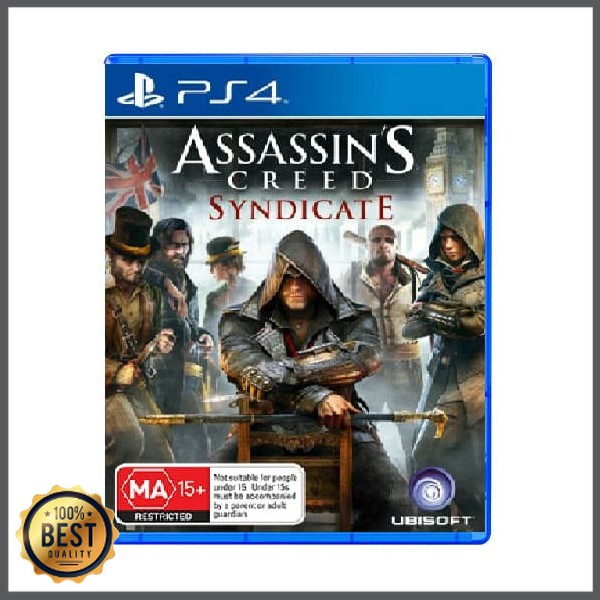 Unik Ps4 Assassin S Creed Syndicate Special Edit R4 English