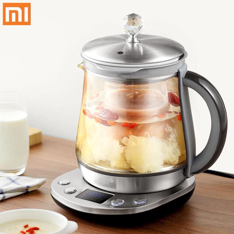 Ketel Listrik Pemanas Air Teko Xiaomi Deerma Multifunction Electric Kettle 1.5L Tea Glass Kettle