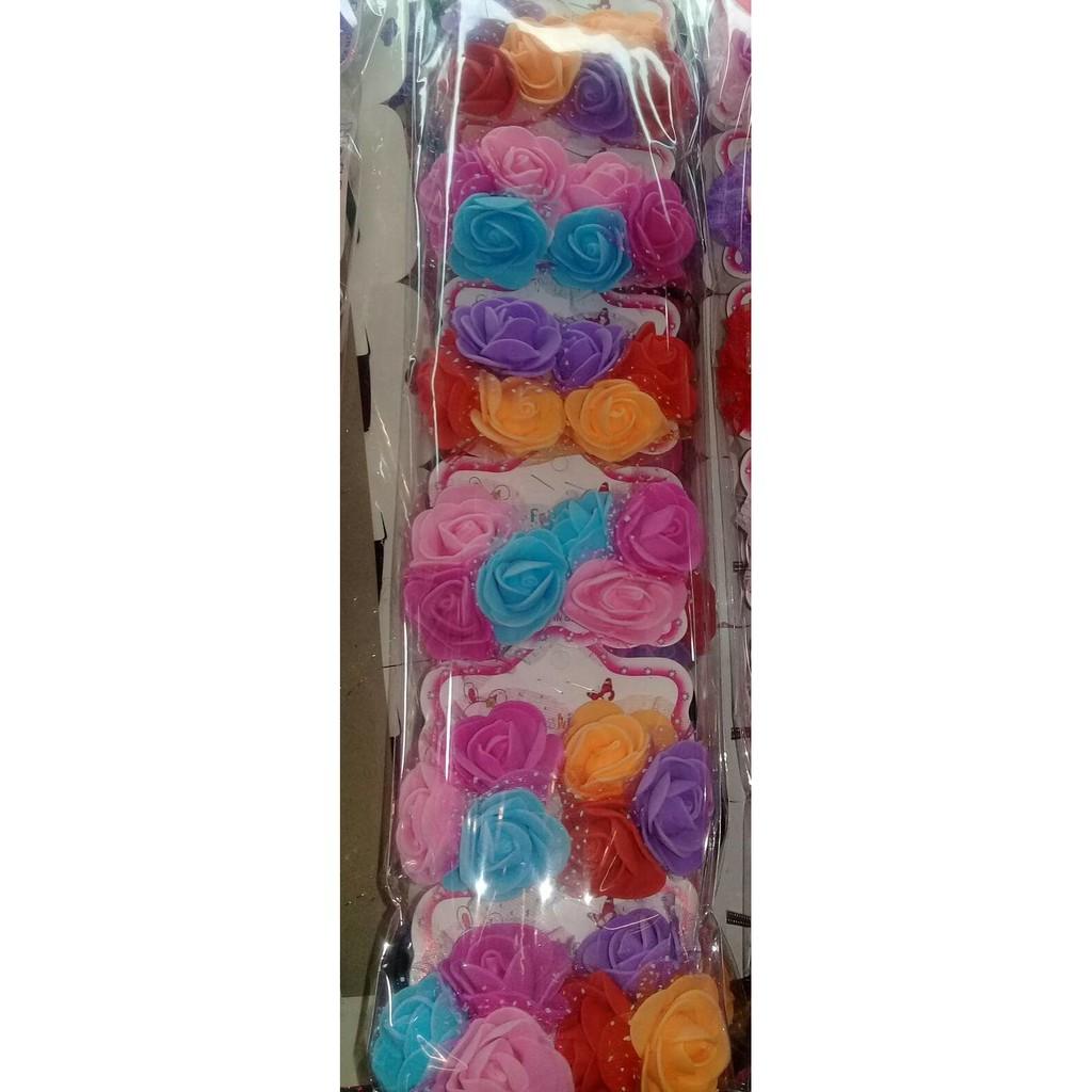 Rose Flower Crown Bunga Mahkota Cantik Ala Princess Shopee Indonesia Bando Pink Handmade