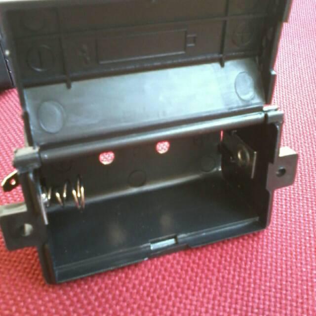 Wadah batrey kompor gas -Wadah batrei pemantik Elektrik Blue gaz DNS waybe