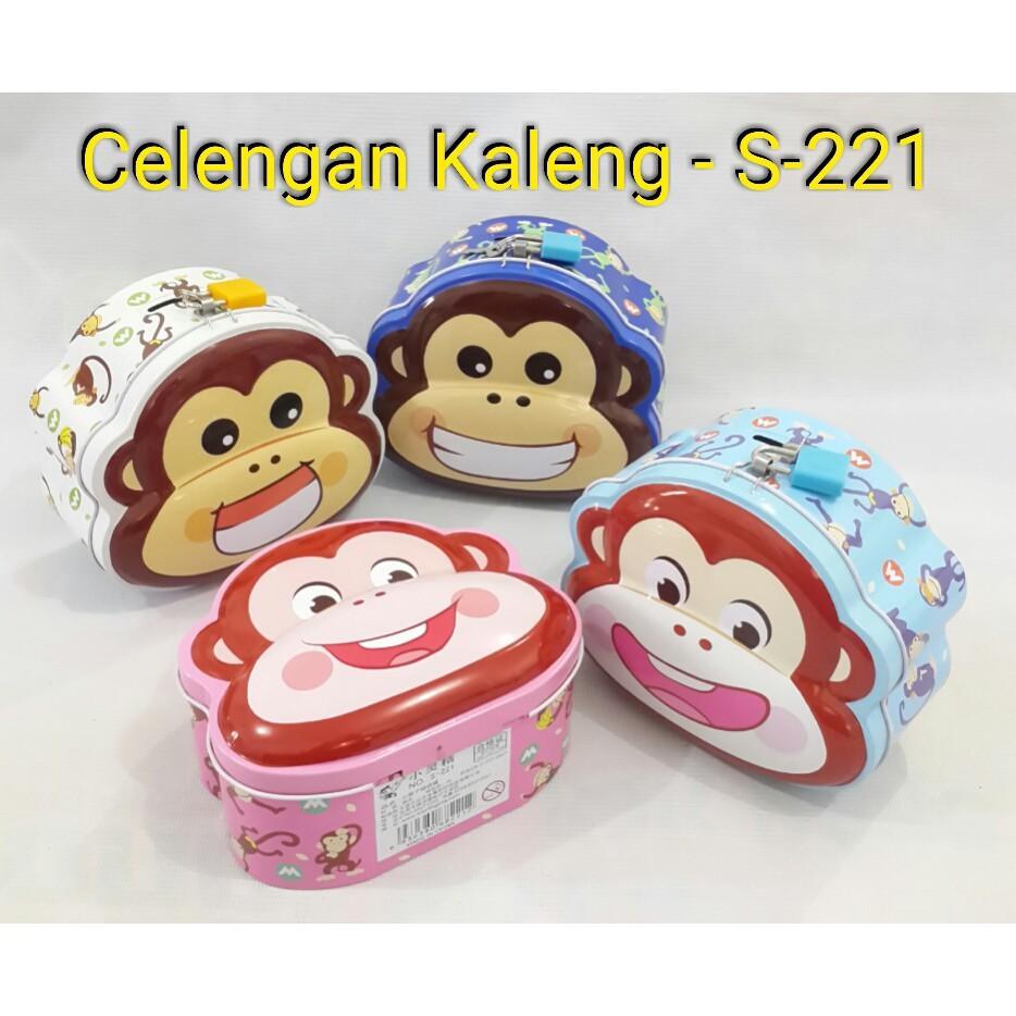 Celengan Kaleng Souvenir Shopee Indonesia Kalenglucu Berkarakter