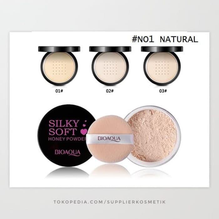 Terlaris Bioaqua Silky Soft Honey Powder - No 1 Natural | Shopee Indonesia