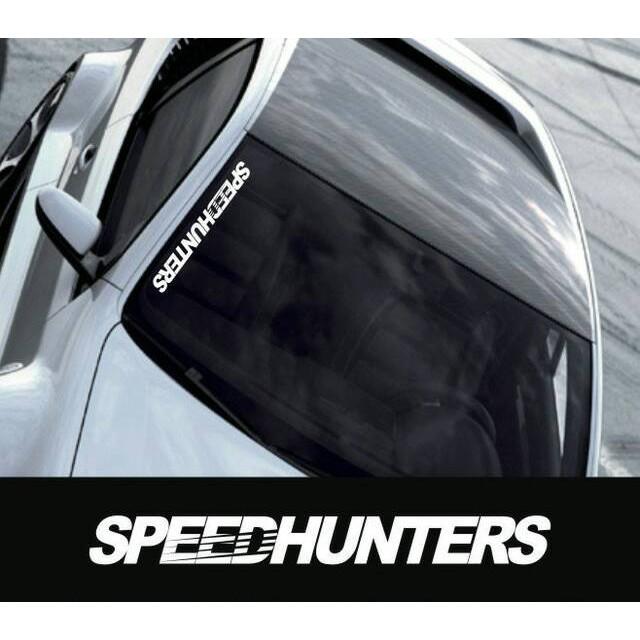 Sticker Speedhunters Stiker Cutting Variasi Mobil Modifikasi Unik
