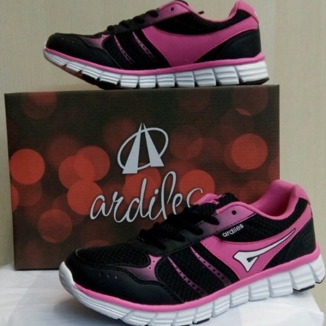 Sepatu Sport Ardiles Mamamo Black Turqoise  a38bbaacc5
