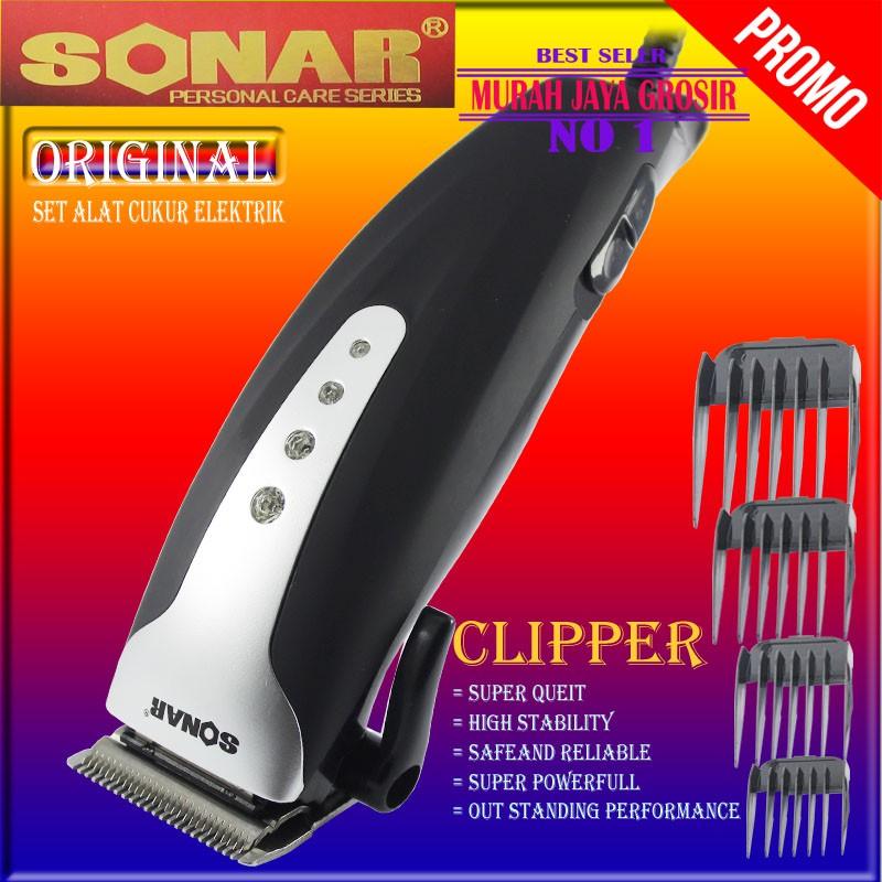 HTC 605 Hair clipper alat cukur rambut profesional alat cukur ... 851dec7e61