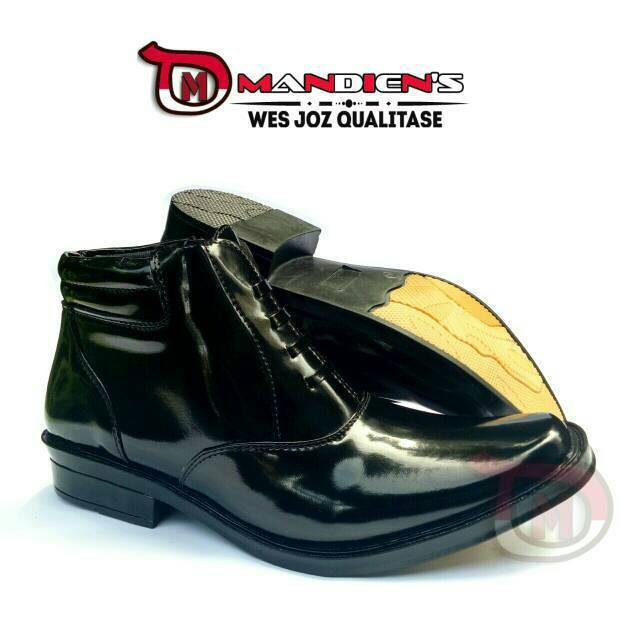 MANDIENS - SEPATU PDH R.02 Sepatu Formal Pria Dinas PDH POLRI Super Kilat -  Pantofel Kerja Pria  a909de2ef3