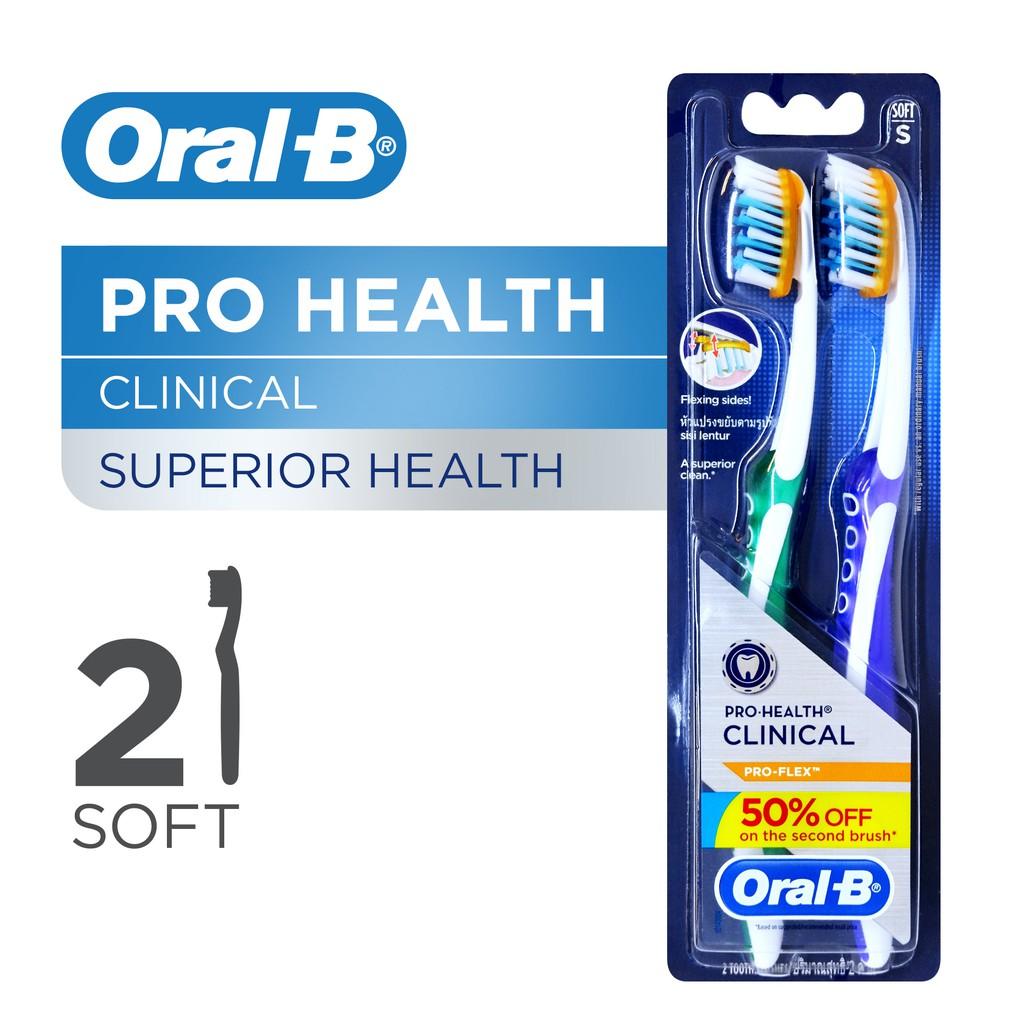 Sikat gigi Oral B pro-flex pro-health clinical toothbrush SALE ... 0dfdbba971
