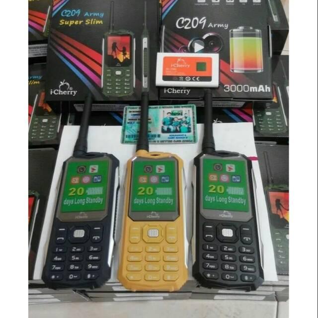 Hp strawberry swat 3 sim card antena powerbank garansi resmi 1 tahun | Shopee Indonesia